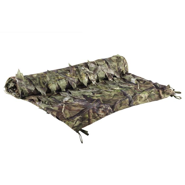 FILET CHASSE CAMOUFLAGE REVERSIBLE  3D 1,5M x 3,8M - 1491818