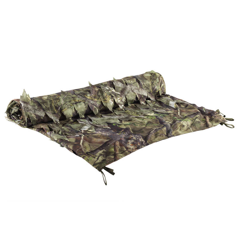 HIDES Shooting and Hunting - REVER 3D CAMO NET 1.5M x3.8M SOLOGNAC - Hunting Types