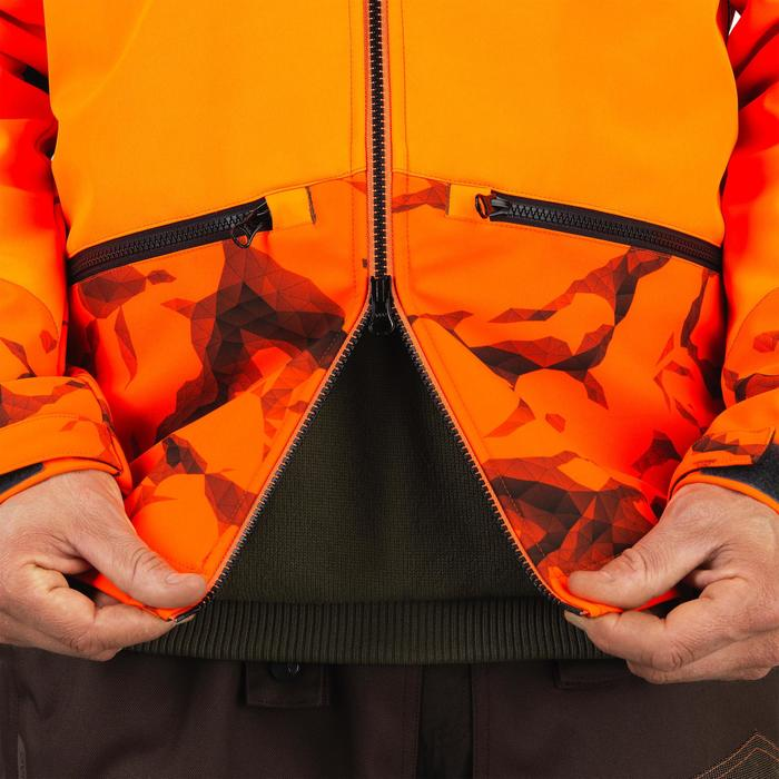 Softshell CHASSE BGB 500 Fluo - 1491837