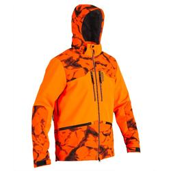 Softshell Caza Sologanc Bgb 500 Naranja Fluo