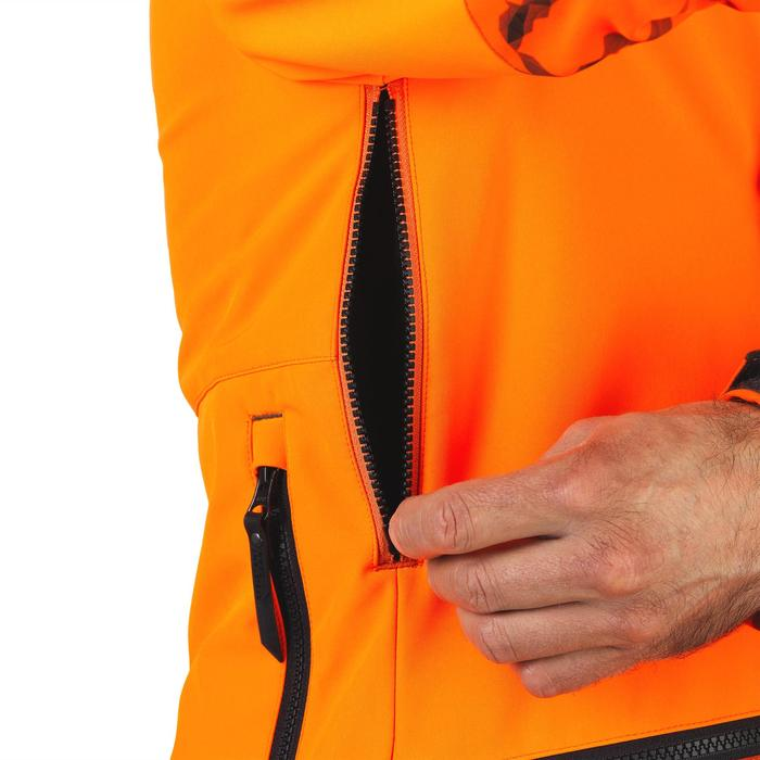 Softshell CHASSE BGB 500 Fluo - 1491849