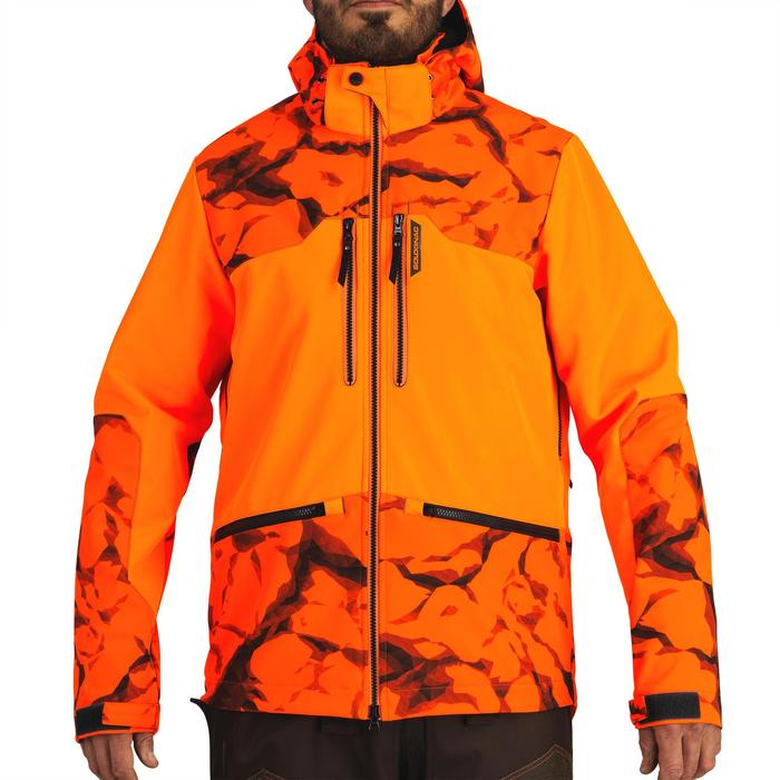 Softshell CHASSE BGB 500 Fluo - 1491851