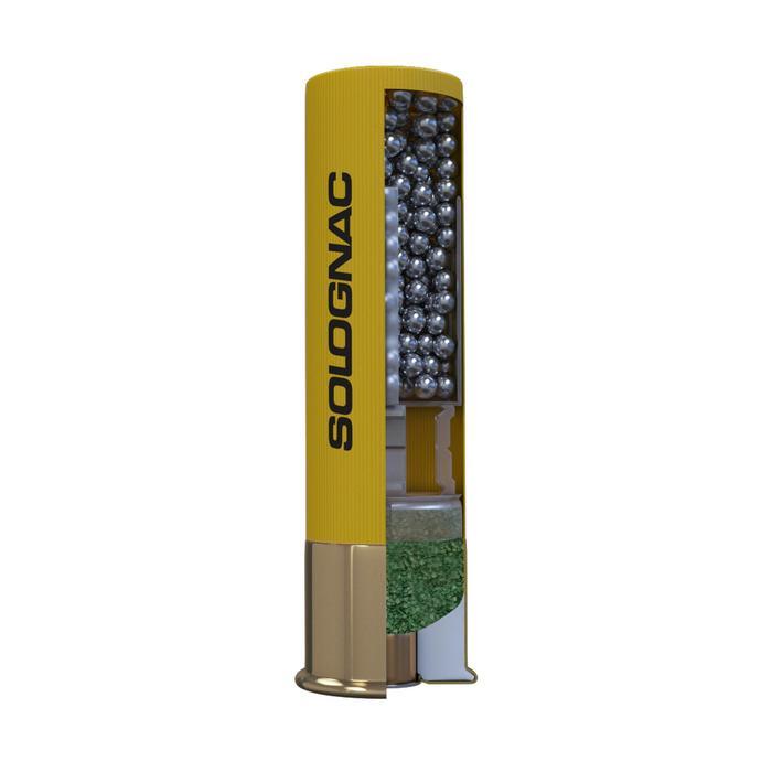 Patronen XL900 34 g vernickelt Kaliber 20/76 Blei Nr. 6 X10