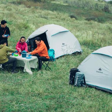 Pflege-Reinigung-Zelt