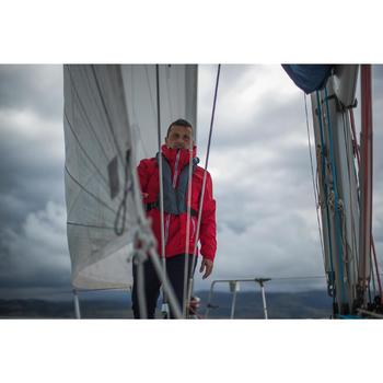Segeljacke wasserdicht Sailing 100 Herren rot