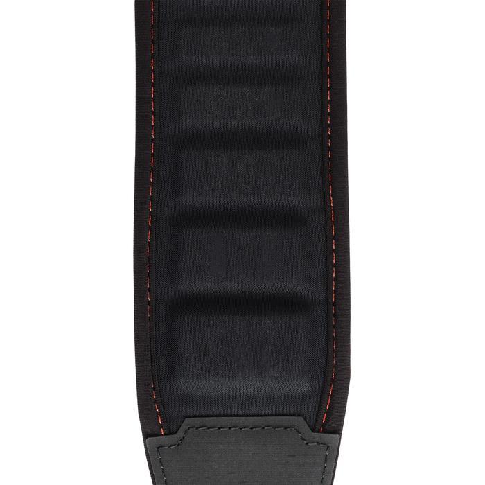 Correa Rifle Caza Solognac 900 Negro Ajustable Espuma Eva