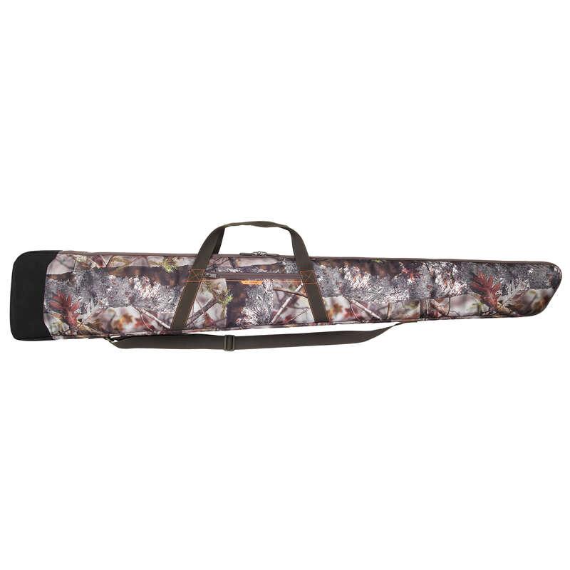 SMALL GAME SHOTGUN/AMMO TRANSPORT Shooting and Hunting - Gun Slip 500 CAMO - 150cm  SOLOGNAC - Hunting and Shooting Accessories