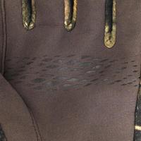 Gants de chasse chaud respirant Merinos 900 Furtiv