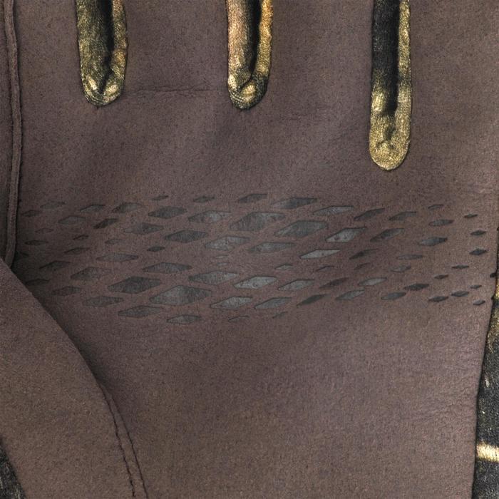 Gants Chasse Chaud Respirant Merinos 900 camouflage Furtiv
