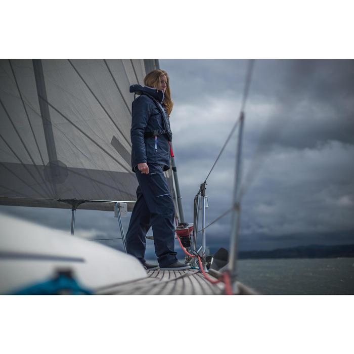 女款防水航海外套Sailing 100-軍藍色
