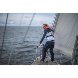 Überziehhose wasserdicht Sailing 100 Damen dunkelblau