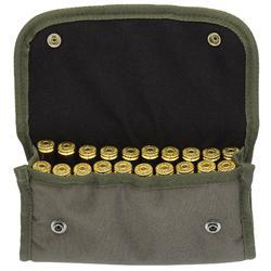 Tasje voor 20 kogels voor de jacht groen