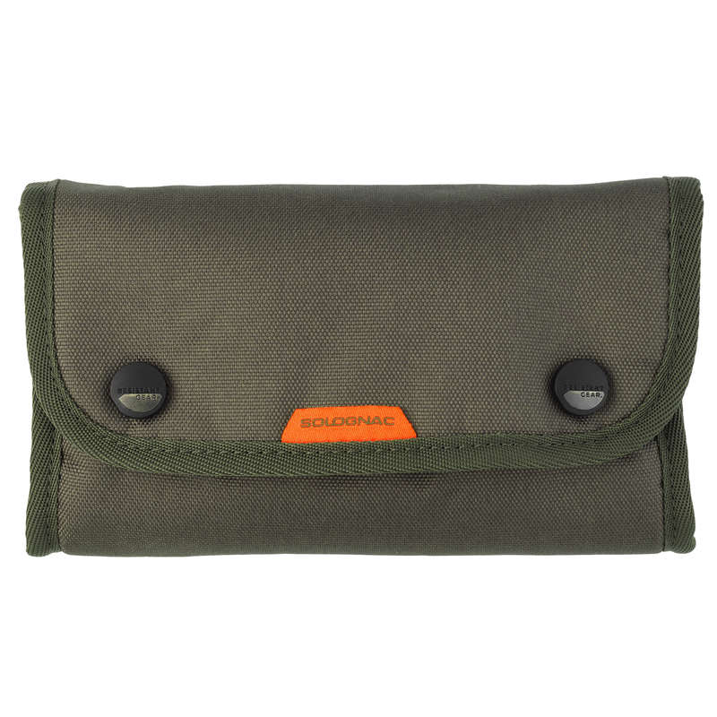 BIG GAME RIFLE/AMMO TRANSPORT Shooting and Hunting - POUCH FOR 20 BULLETS GREEN SOLOGNAC - Hunting Types