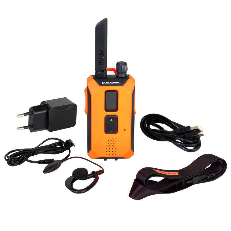 TRAIL CAMERA/WALKIE TALKIE Hiking - WALKIE TALKIE BGB 500 SOLOGNAC - Hiking Gear