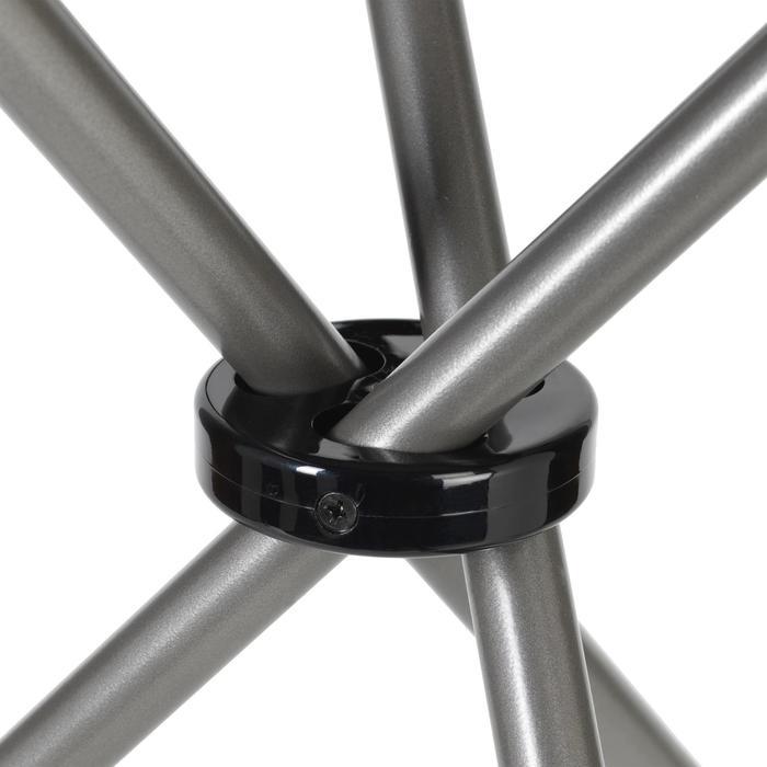 Trípode Caza Solognac 500 Taburete Aluminio Gris 50 cm