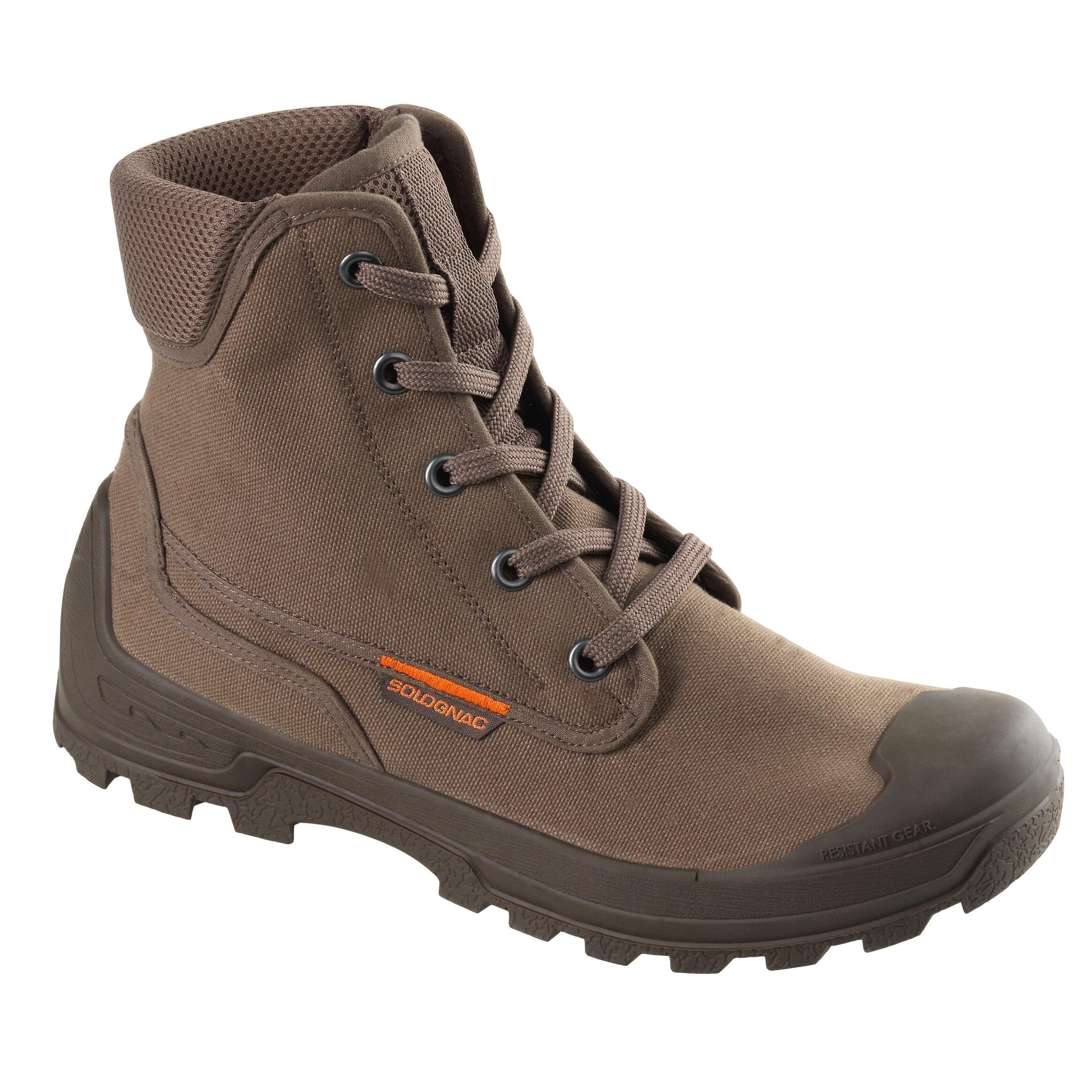 JAGDSCHUHE ATMUNGSAKTIV 100 | Schuhe > Outdoorschuhe > Trekkingschuhe | Solognac