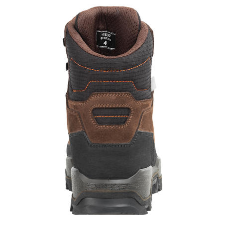 CHAUSSURES CHASSE CROSSHUNT 500 MARRON IMPERMEABLES RESISTANTES