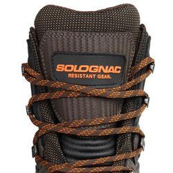 Botas Caza Solognac Sg 900 Impermeable Reforzada Caña Alta marron