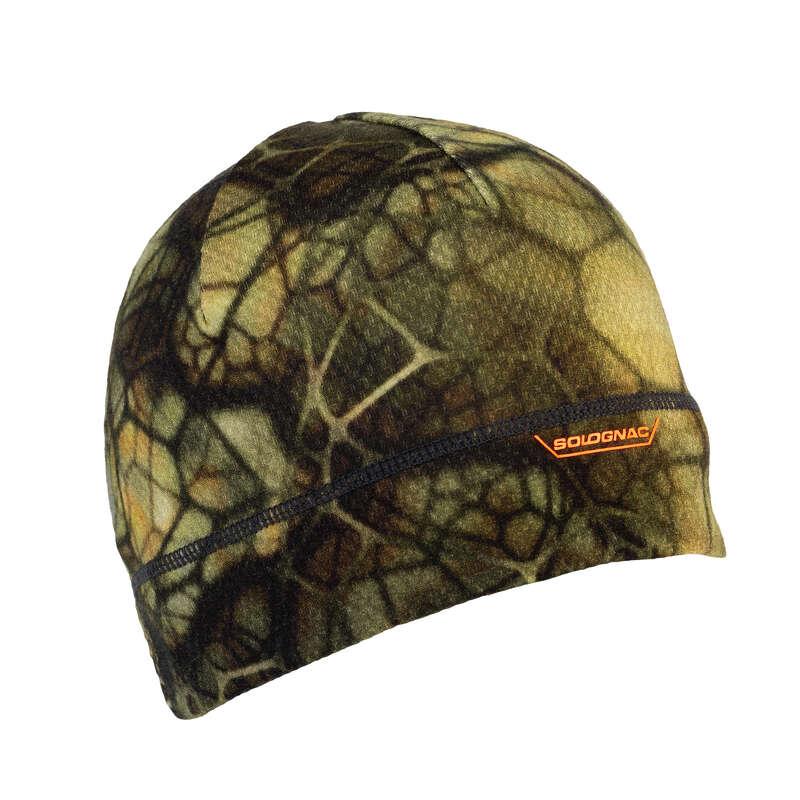 Warme Camouflage Bekleidung Jagd und Sportschiessen - Mütze Merino 900 FURTIV SOLOGNAC - Jagdbekleidung