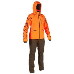 Jagd-Regenjacke Supertrack orange