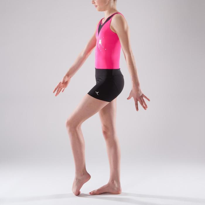 Shorty Gymnastique Féminine (GAF et GR) noir sequins. - 1492395