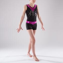 Gymshorty meisjes (toestelturnen en RG) met glitters