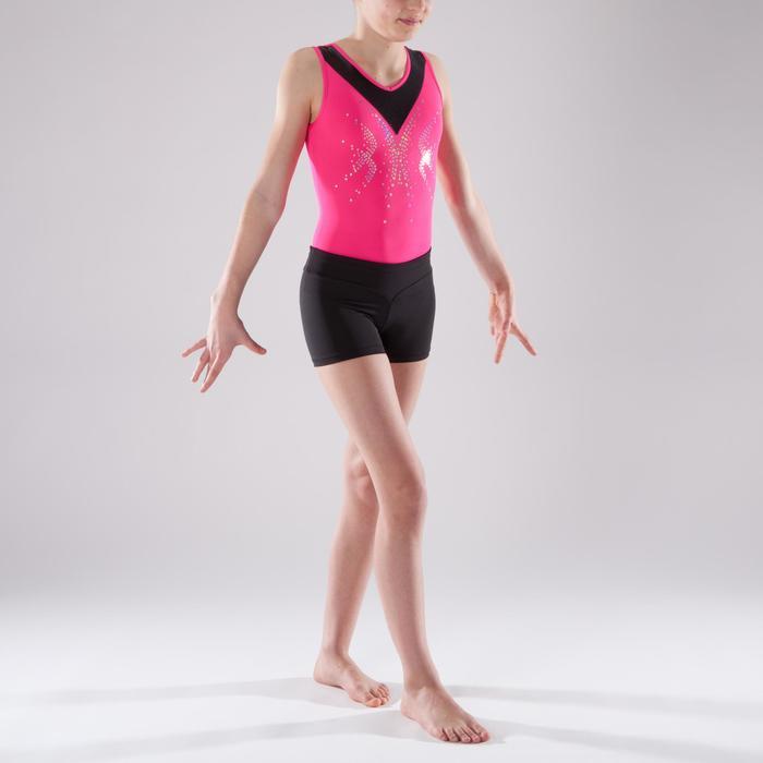 Shorty Gymnastique Féminine (GAF et GR) noir sequins. - 1492401