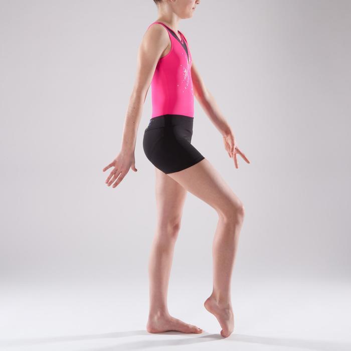 Shorty Gymnastique Féminine (GAF et GR) noir sequins. - 1492402