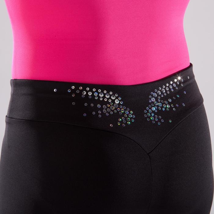 Shorty Gymnastique Féminine (GAF et GR) noir sequins. - 1492407