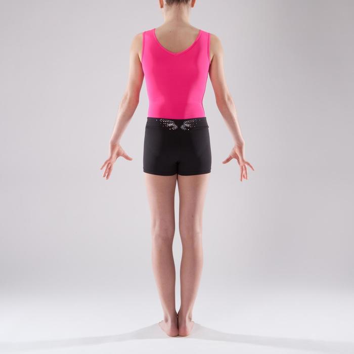 Shorty Gymnastique Féminine (GAF et GR) noir sequins. - 1492409