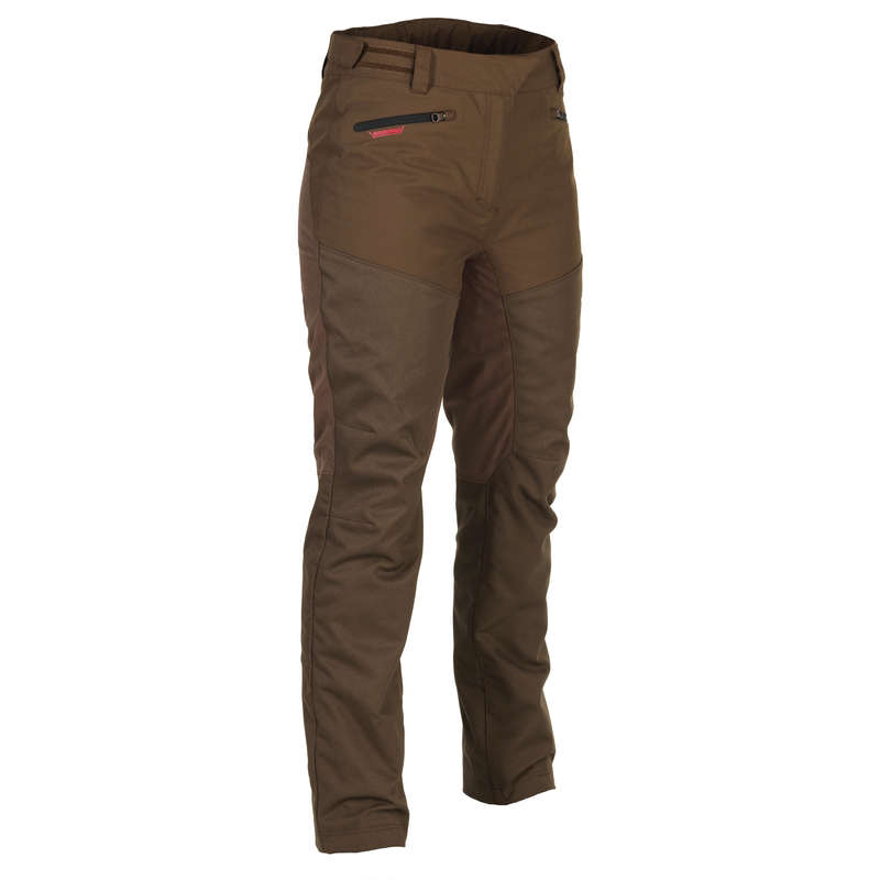 HUNTING WOMEN CLOTHING Shooting and Hunting - Women's Supertrack Trouser 500 SOLOGNAC - Hunting and Shooting Clothing