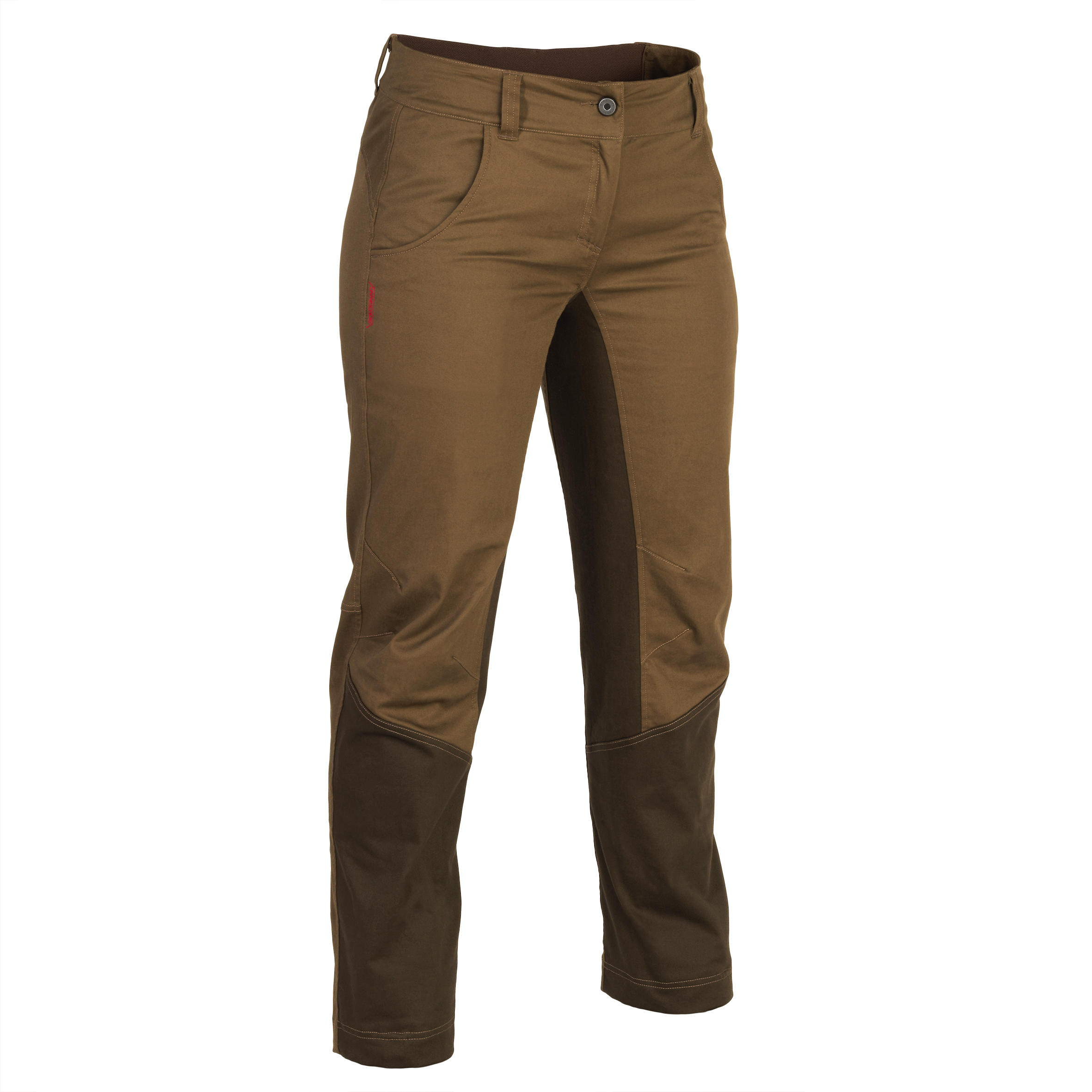 Pantalon 500 maro Damă