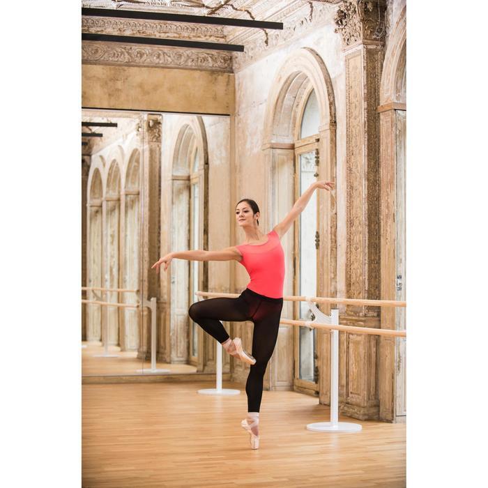 Justaucorps de danse classique manches courtes bi-matière femme - 1492454