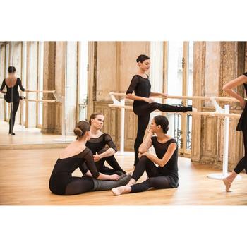 Tanzstulpen mit Fersenloch Damen grau