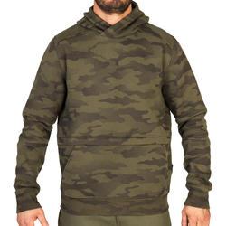 Jagd-Sweatshirt Kapuze 500 Camouflage Halftone
