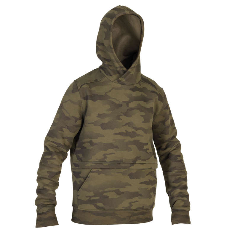 SWEATERS Clothing - Sweatshirt 500 - Halftone Camo SOLOGNAC - Tops