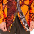 ФЛУОРЕСЦЕНТНЫЙ КАМУФЛЯЖ ДЛЯ ЗАГОННОЙ ОХОТЫ/СТРЕЛОК Одежда - КУРТКА УТЕПЛЕННАЯ 100 КАМУФЛ. SOLOGNAC - Куртки