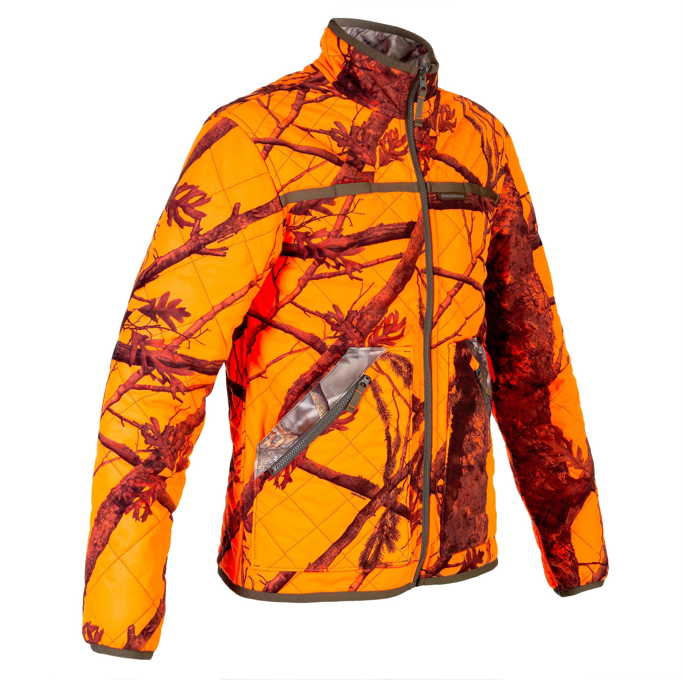 Jachetă matlasată Reversibilă