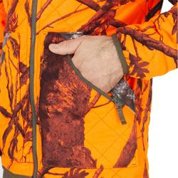 Veste matelassée réversible camo/fluo