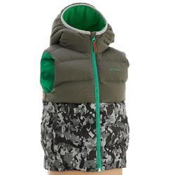 兒童款超保暖鋪棉背心MH500