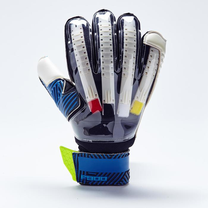 Keepershandschoenen volwassene F900 blauw geel