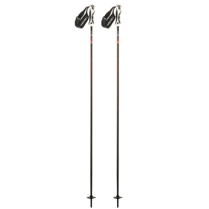 Skistokken voor pisteskiën heren SKI-P Boost 900 zwart