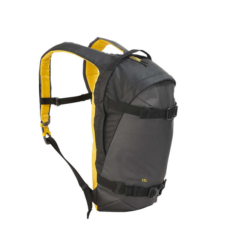 SKI AND SNOWBOARD BACKPACKS Bags - Backpack Rvs One 100 15L - Blk WEDZE - Bags