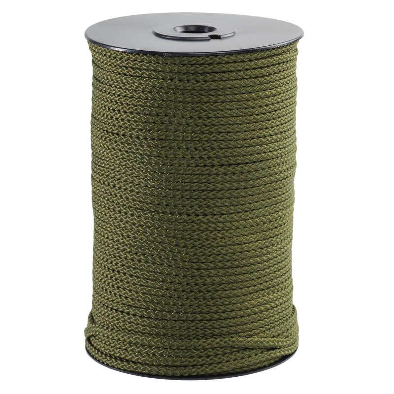 MATERIALE CACCIA SELVAGGINA D#ACQUA Caccia - Corda verde D 3MM X 100M NO BRAND - Accessori caccia