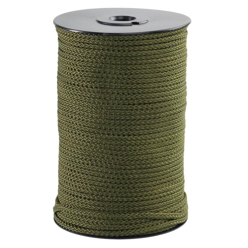 VYBAVENÍ NA LOV VODNÍHO PTACTVA - Zdvižné lano 3 mm 100 m zelené GMT