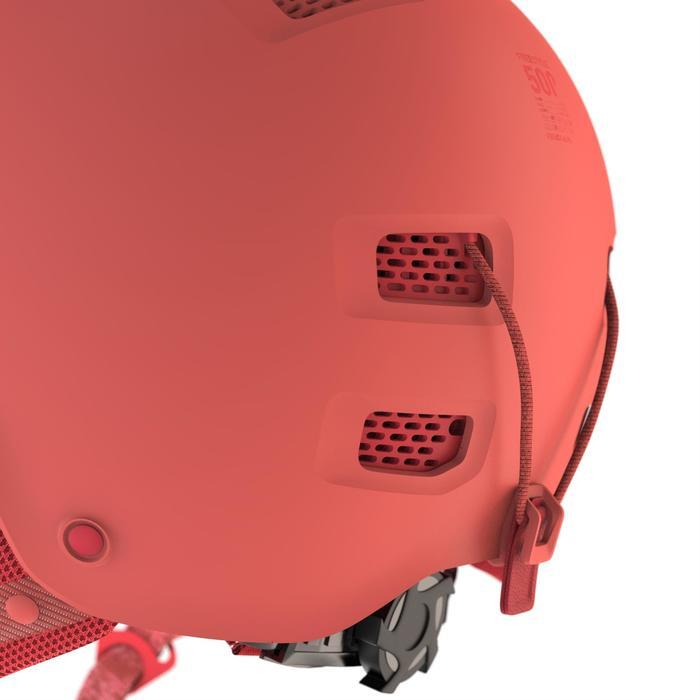 Casque de snowboard et de ski adulte et junior H-FS 300 corail