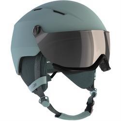 成人下坡滑雪安全帽350,藍色