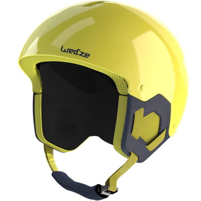 CASCO DE ESQUÍ JÚNIOR H-KID 500 AMARILLO