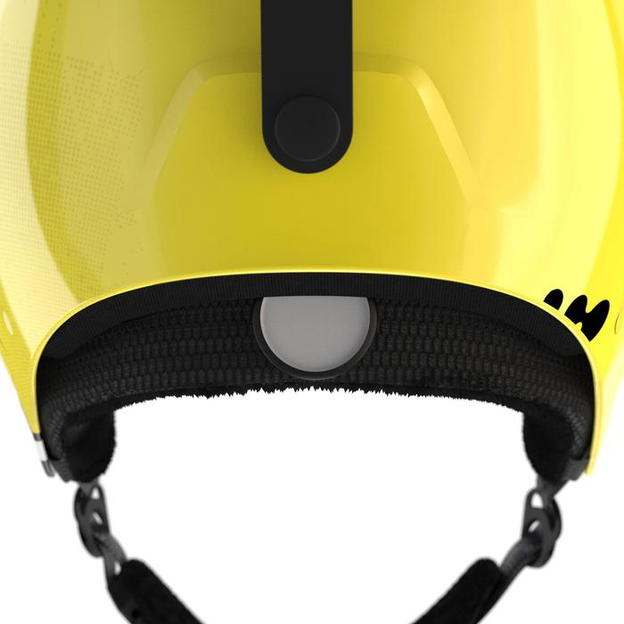 Skihelm Piste HRC 500 Erwachsene schwarz/gelb