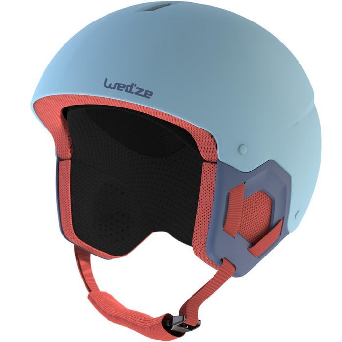 兒童滑雪安全帽H-KID 500 - 藍色
